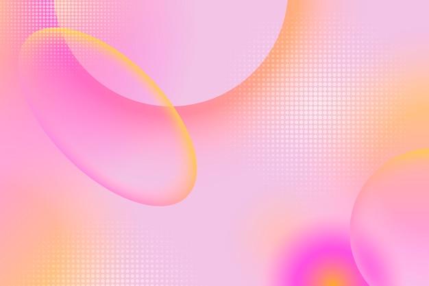 Dynamischer abstrakter hintergrund mit farbverlauf