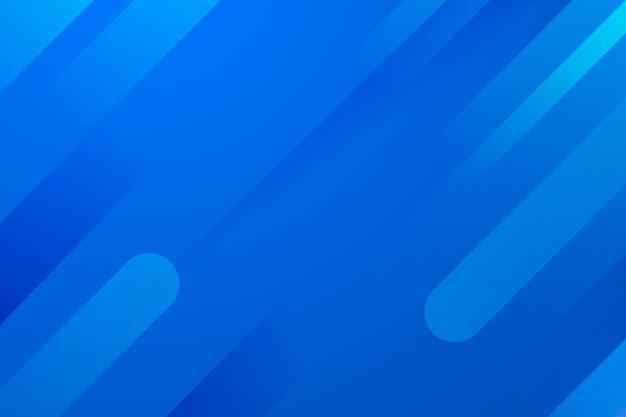 Dynamischer blauer linienhintergrund mit farbverlauf