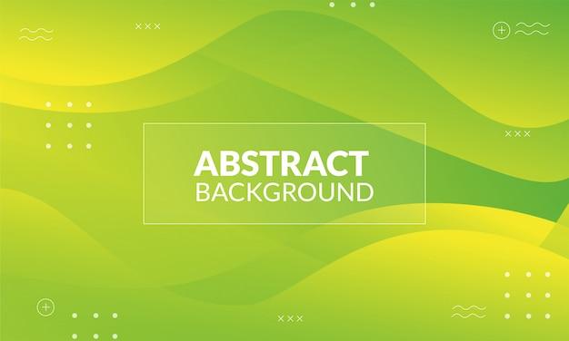 Dynamischer flüssiger abstrakter hintergrund mit stabilofarbe