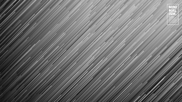 Dynamischer fluss zeichnet abstrakten vektor-hintergrund