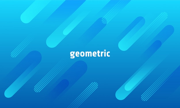 Dynamischer geometrischer hintergrund