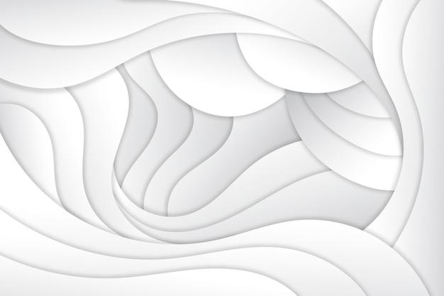 Dynamischer, glatter hintergrund im papierstil