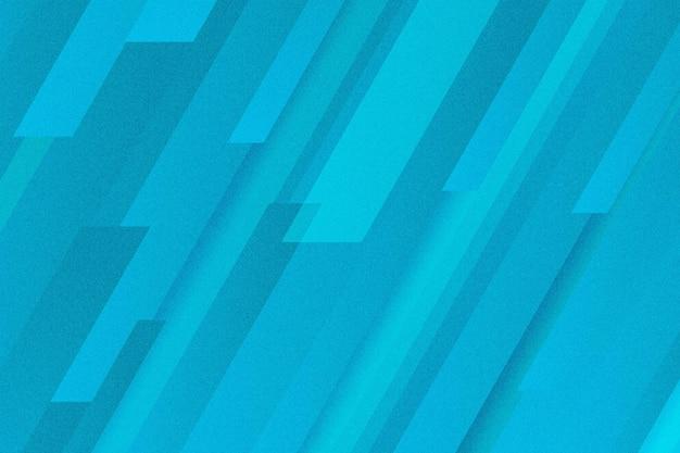 Dynamischer linienhintergrund mit blauem farbverlauf
