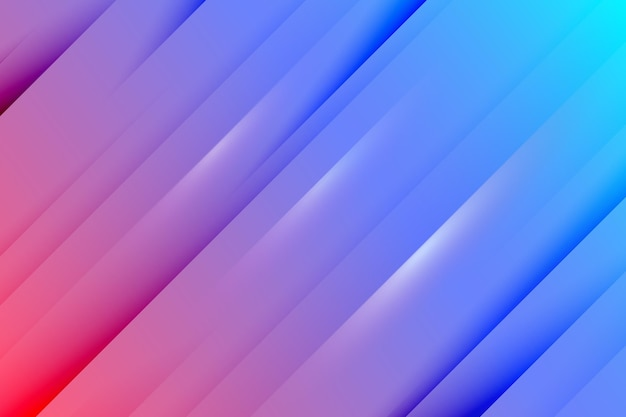 Dynamischer linienhintergrund mit farbverlauf