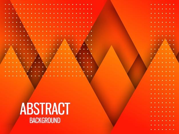 Dynamischer orange strukturierter hintergrund