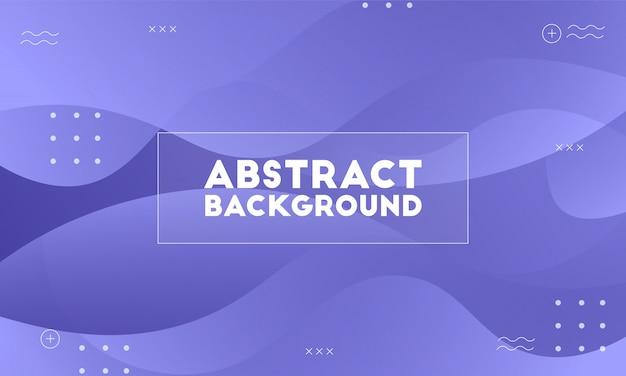 Dynamischer purpurroter flüssiger abstrakter hintergrund