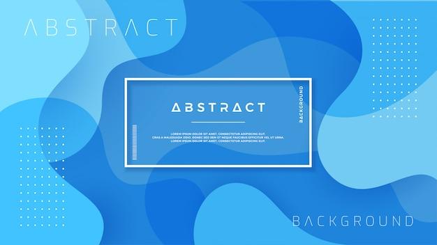Dynamischer strukturierter blauer hintergrund.