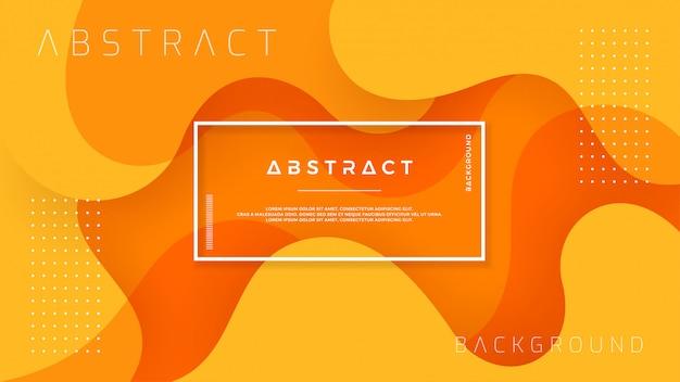 Dynamischer strukturierter orange hintergrund.