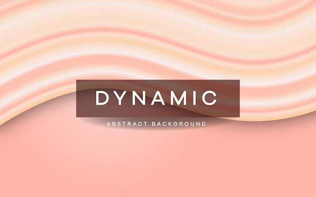 Dynamischer überlappungshintergrund auf pastellfarben