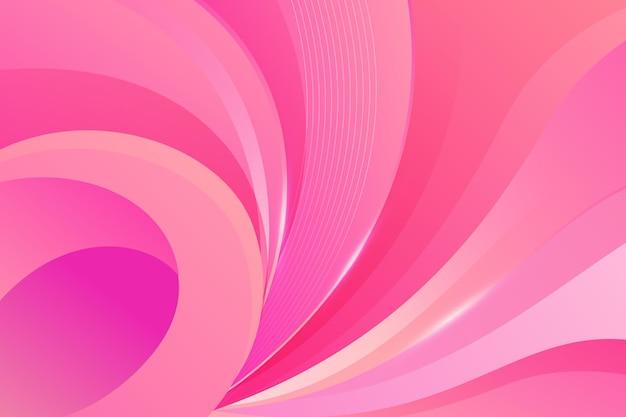 Dynamischer, welliger hintergrund mit farbverlauf