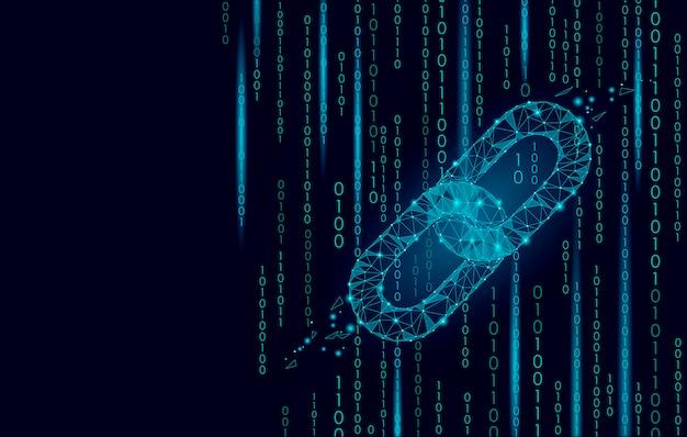 E-commerce-geschäft der globalen netzwerktechnologie von blockchain-kryptowährungen