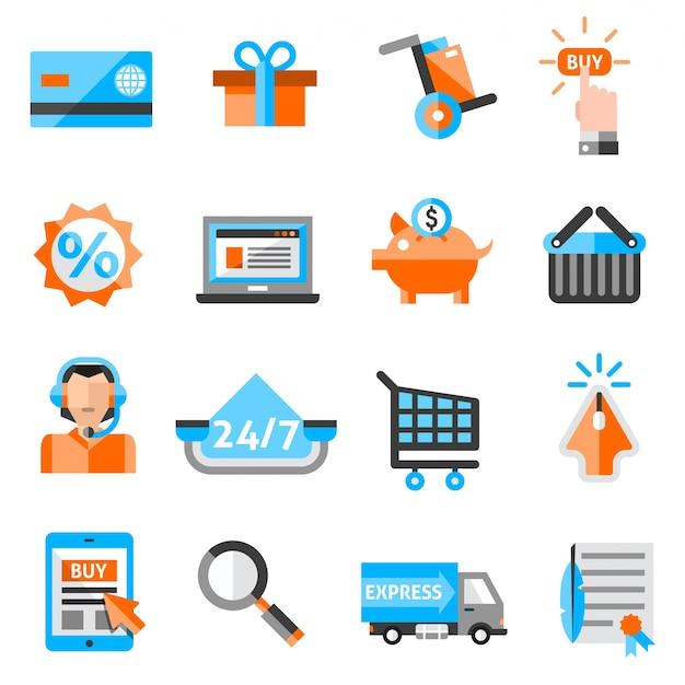 E-commerce-ikonen eingestellt