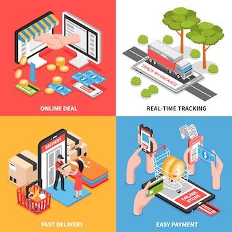 E-commerce isometrisch