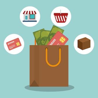 E-commerce-shop online-design