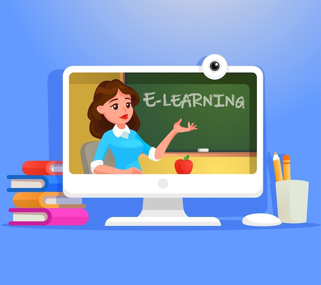 E-learning-illustration.