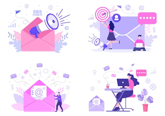 E-mail-marketing-illustration