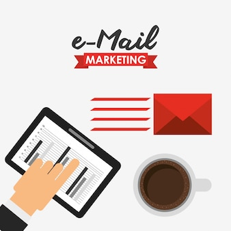 E-mail-marketing-illustration