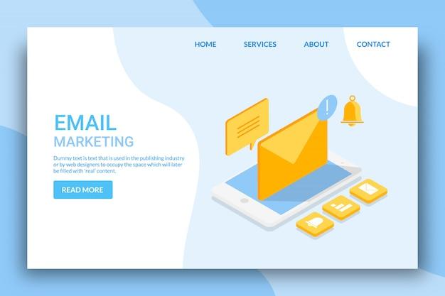 E-mail-marketing-konzept