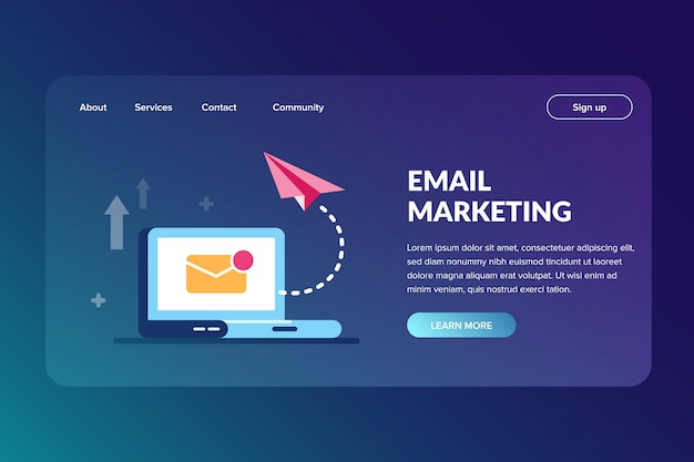 E-mail-marketing-landingpage