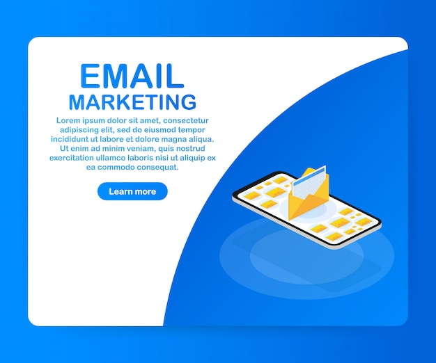 E-mail-marketing, newsletter-marketing, e-mail-abonnement-vorlage