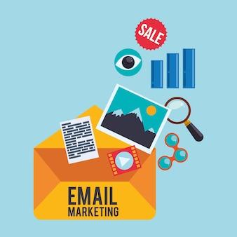 E-mail marketing und kommunikationsmedien design