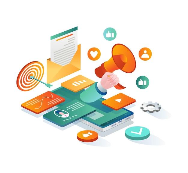 E-mail-strategiemarketing und social media