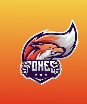 E-sport mit fox-logo