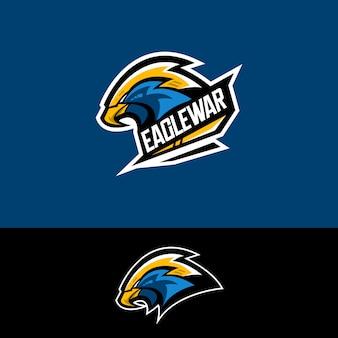 E-sport team logo mit adler