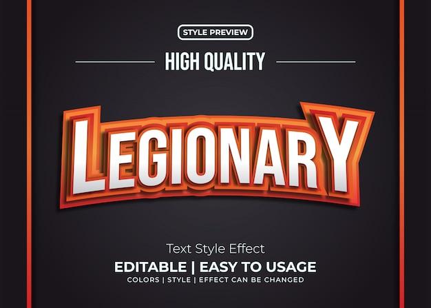 E-sport text style effekt