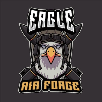Eagle air force logo vorlage