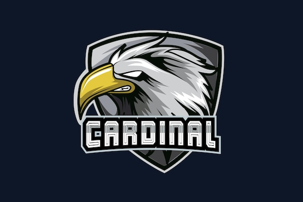 Eagle e-sports team logo vorlage