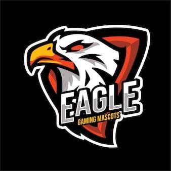 Eagle esports-maskottchen-charakter