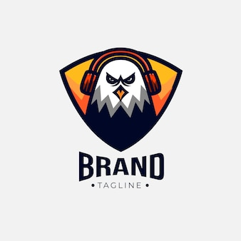 Eagle game logo
