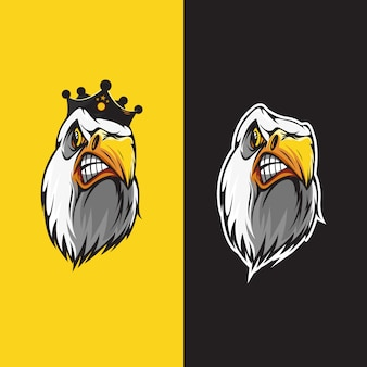 Eagle head logo park