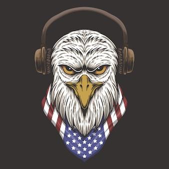 Eagle head usa