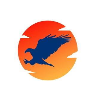 Eagle logo design vorlagen