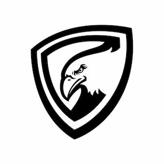Eagle-logo für eine sportmannschaft