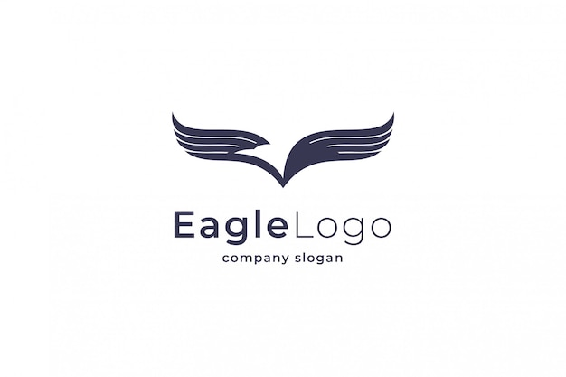 Eagle logo Premium Vektoren