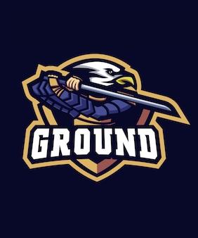 Eagle samurai-logo