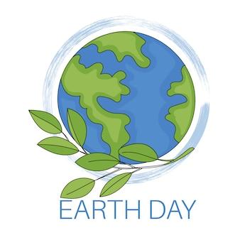 Earth day planet ökologisches problem