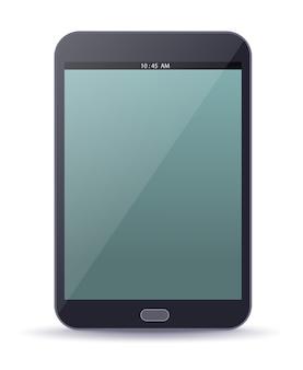 Ebook gerät mit leerem bildschirm