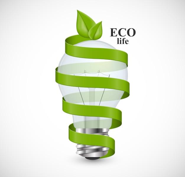 Eco-energie-konzept.