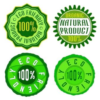 Eco freundliche stempel