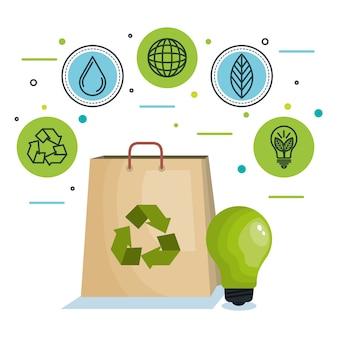 Eco freundliches design