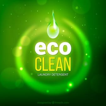 Eco sauberen hintergrund