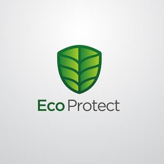 Eco schützen logo