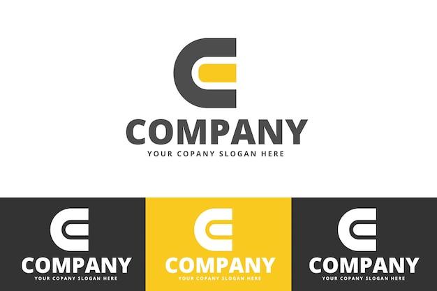 Eco und organischer baum logo vector