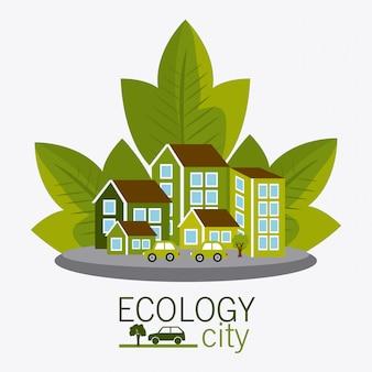 Ecocity design.