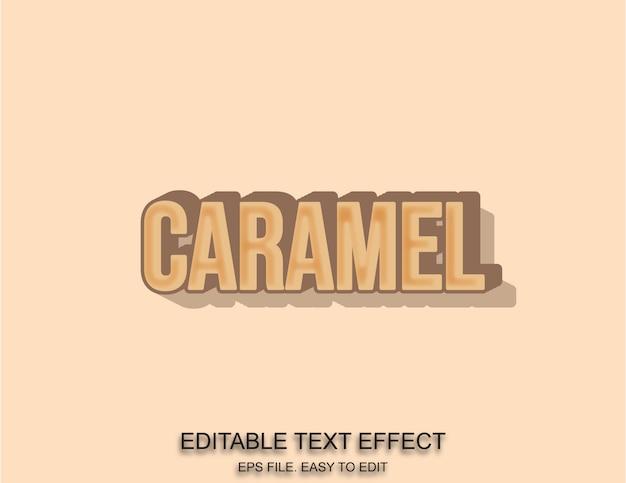 Editierbarer karamelleffekt