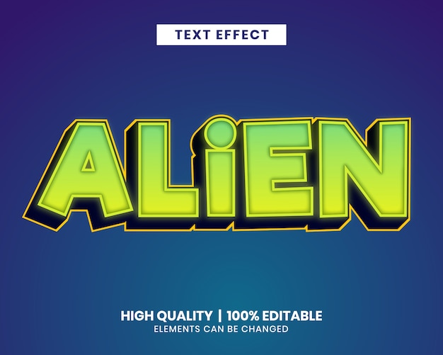 Editierbarer texteffekt des vibrierenden farbpinselanschlags